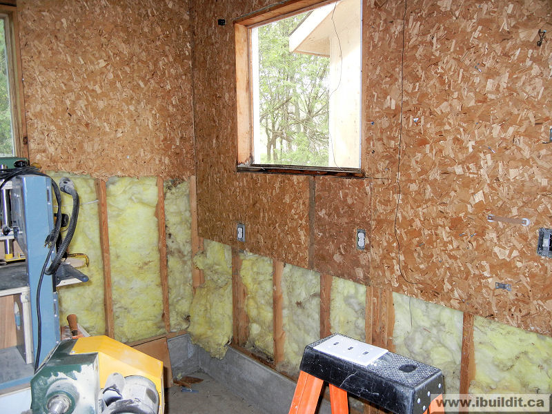 Insulated Garage Walls With Osb