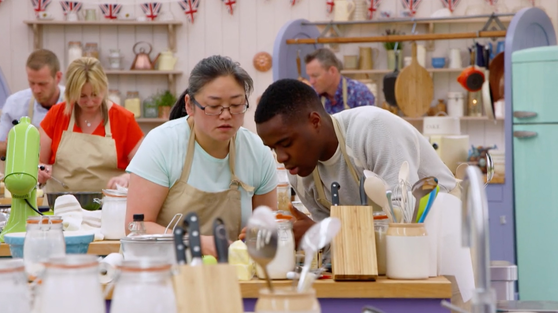 Showy More Episodes British Bake Off All British Bake Off Season 2 Netflix British Bake Off Season 2 Episode 8 nice food Great British Bake Off Season 2