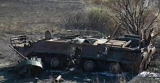 БТР-82АМ під Новосвітлівкою