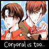 Corporal is too scary for me