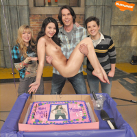 Nude Carly Shay with her friends ready to celebrate bithday