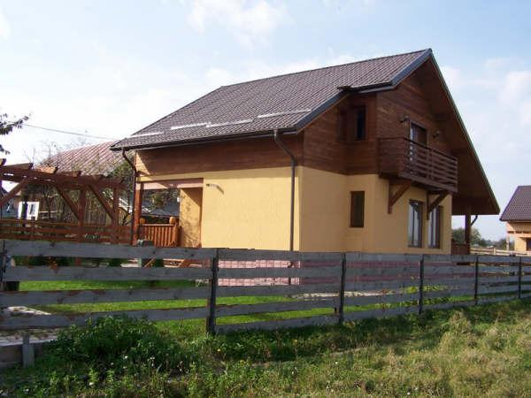 Casas de estructura de madera o de madera maciza machihembrada - Estructura casa madera ...