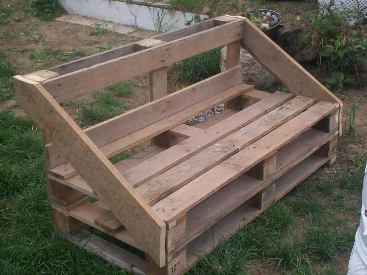 Muebles hechos con palets para decorar tu casa o jard n - Muebles hechos con palets de madera ...