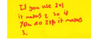 Algebra: Lesson 1 Pre-Lesson Mini-Assessment Task - Students' response 4_a