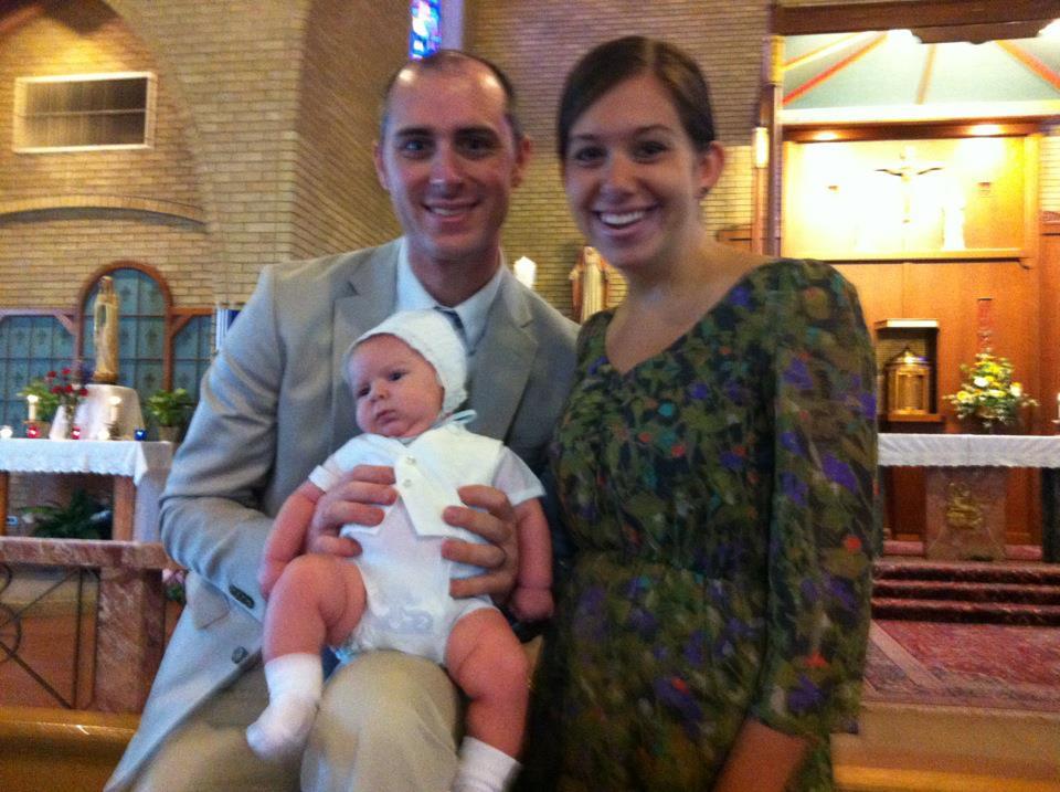 Ready to Grow Up Catholic: Owen's Baptism