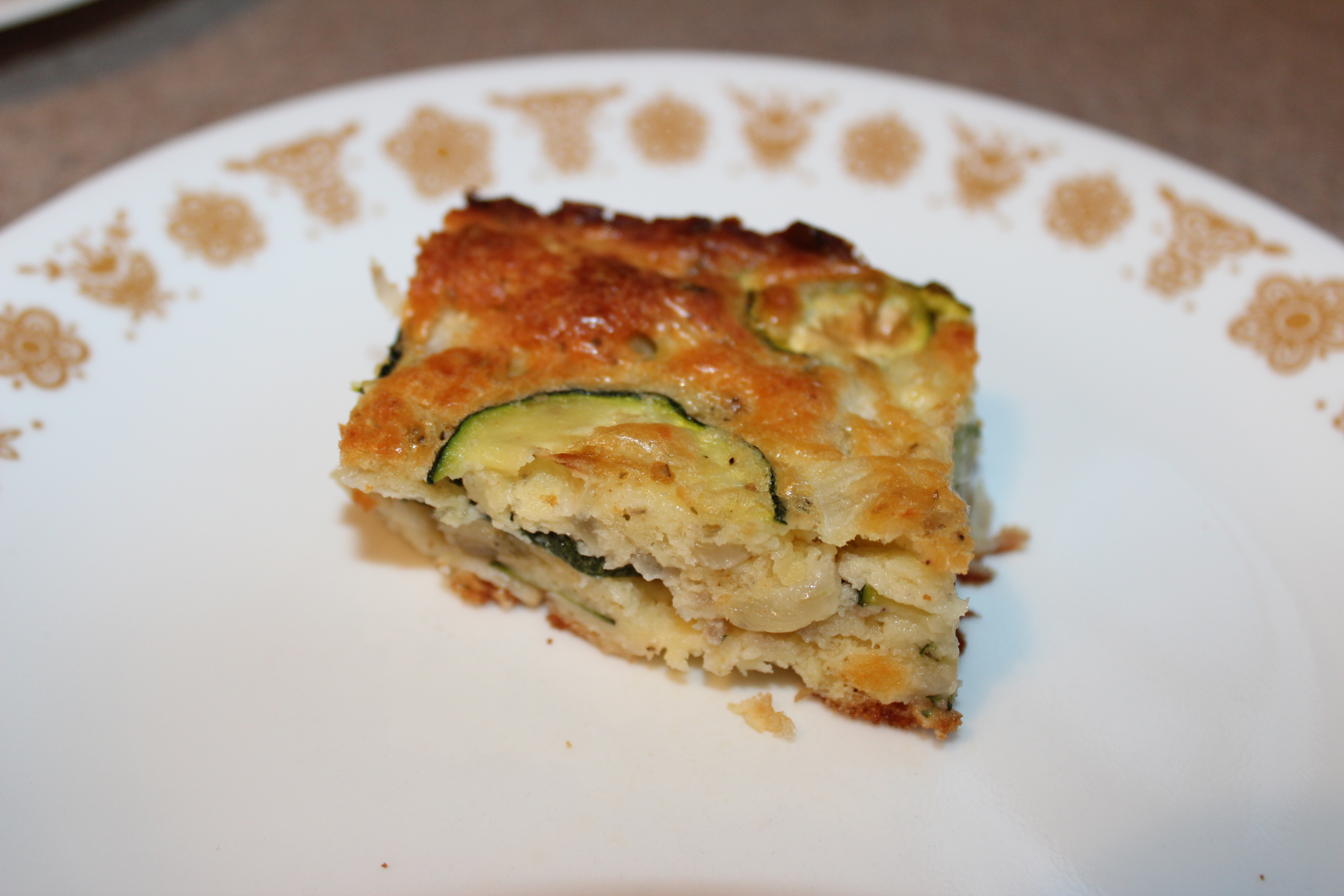 Summertime Zucchini Squares