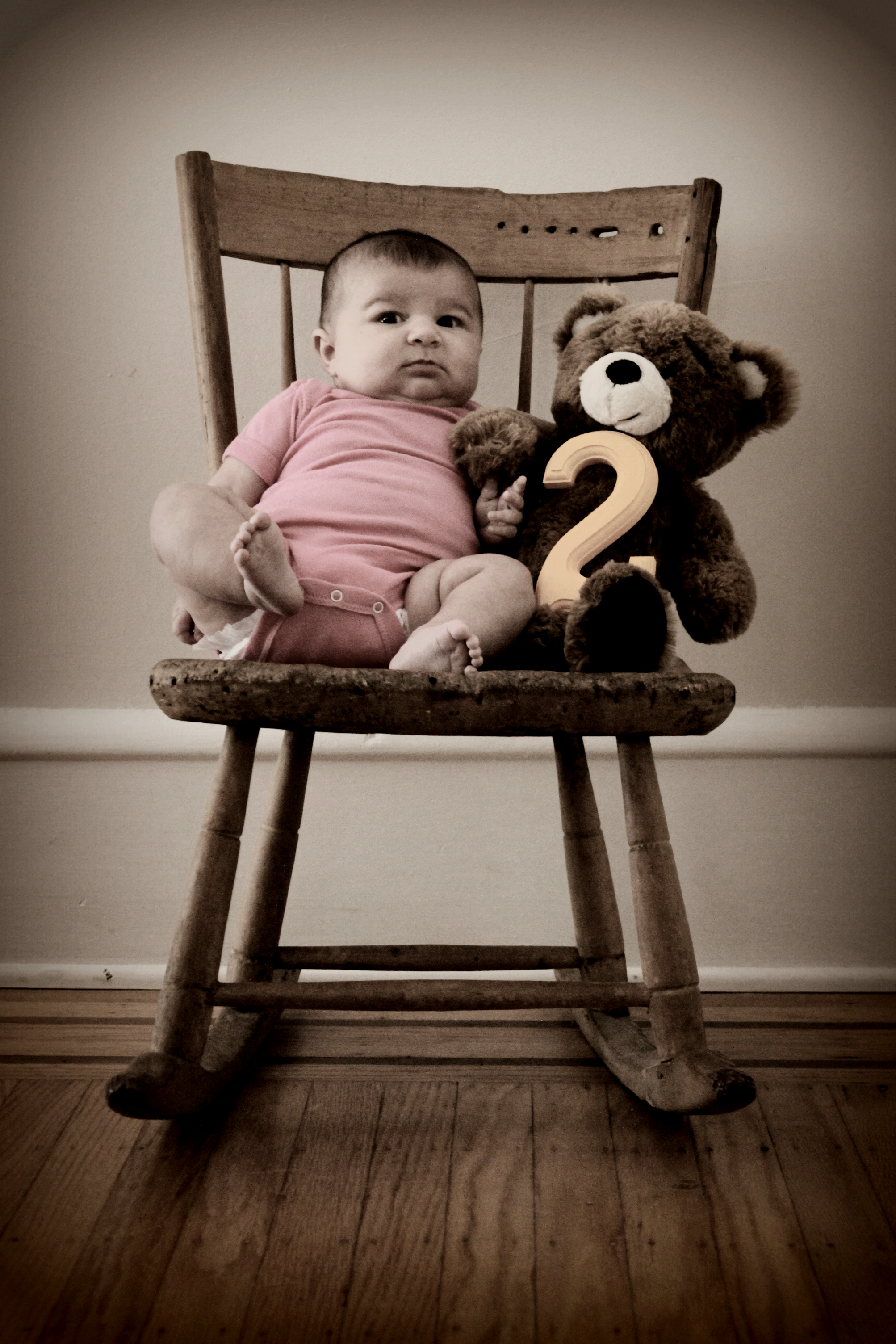 Baby Carmendy: Two Months Old and Too Cute