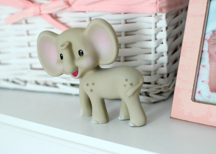 Clementine's Gray and Pink Elephant Nursery