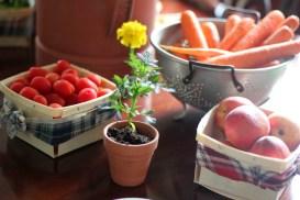 veggie-tablescape