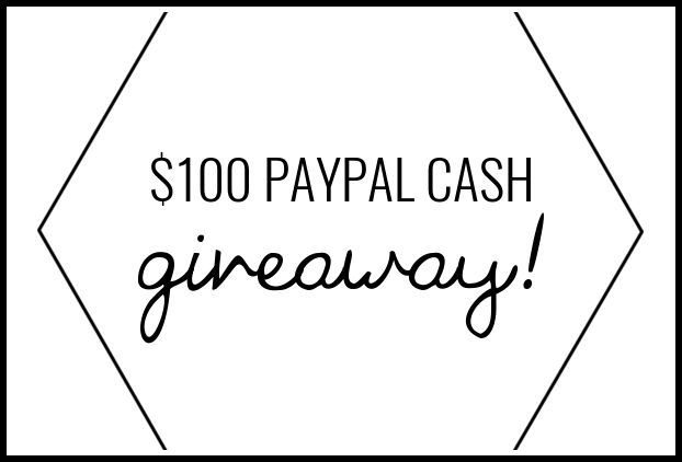 Giveaway! Enter to Win $100 PayPal Cash
