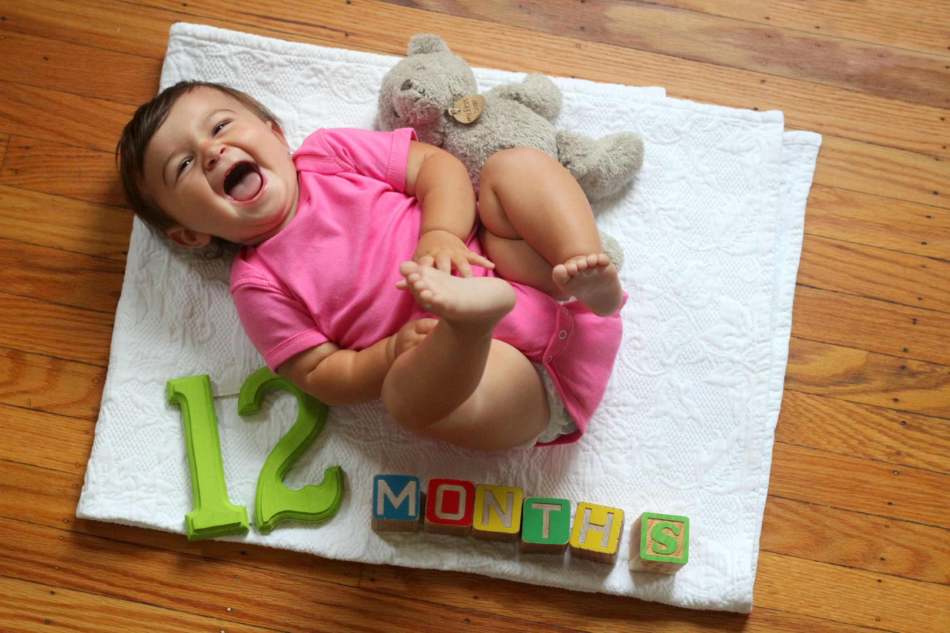 She's One! {12 Months Old}