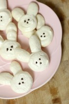bunny meringue cookies for easter