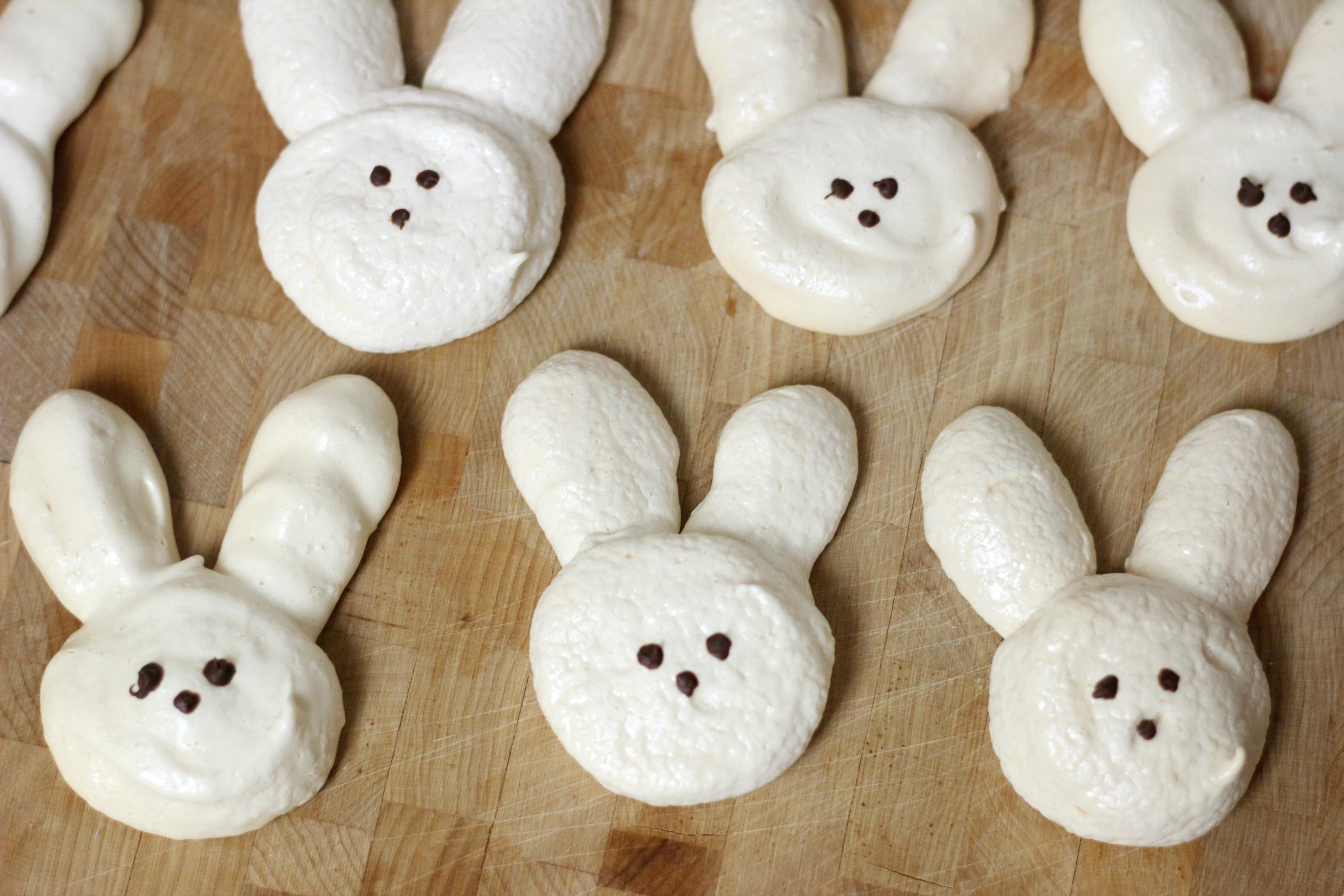 Bunny Meringues