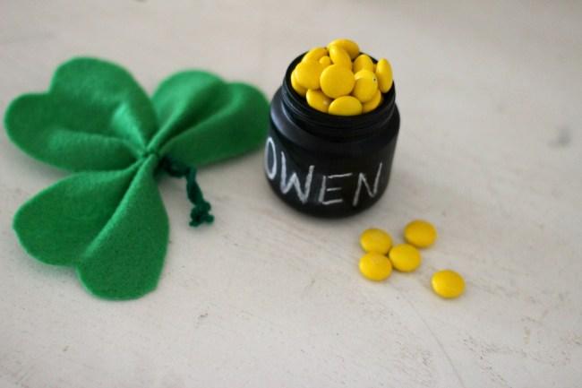 St. Patrick's Day Mini DIY Pot of Gold Favor