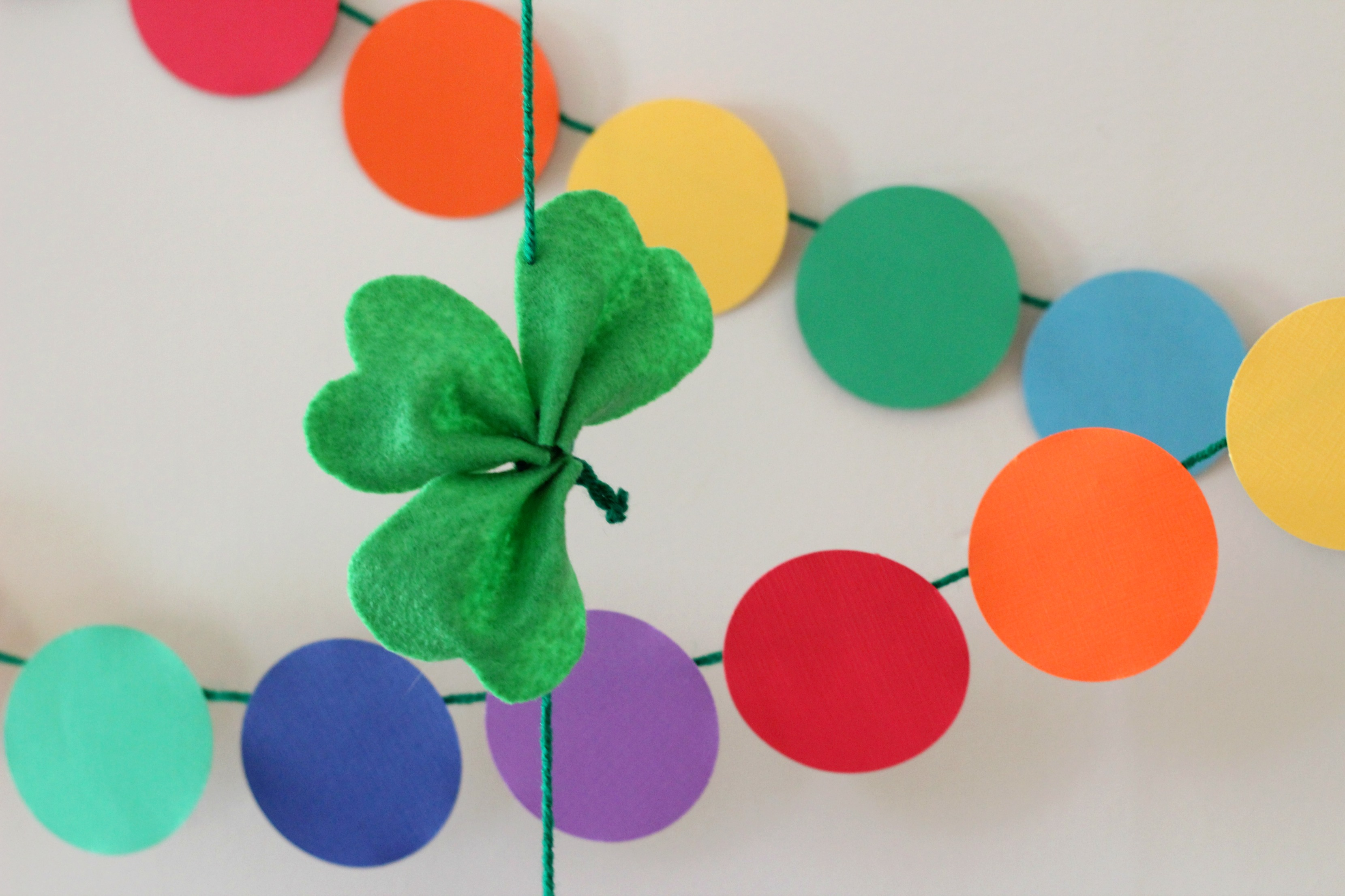 St. Patrick's Day Rainbow Party Decorations