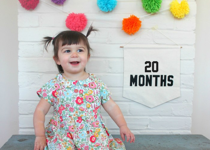 Catching Up With Carmendy {20 Months Old}