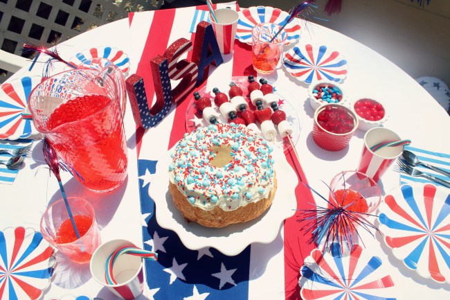 4th of july party treats