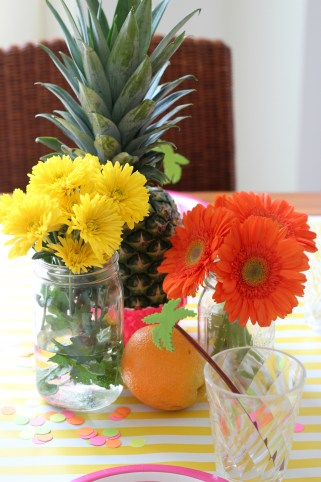 Tropical Party: A Pineapple Baby Sprinkle