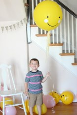 smiley face balloon owen