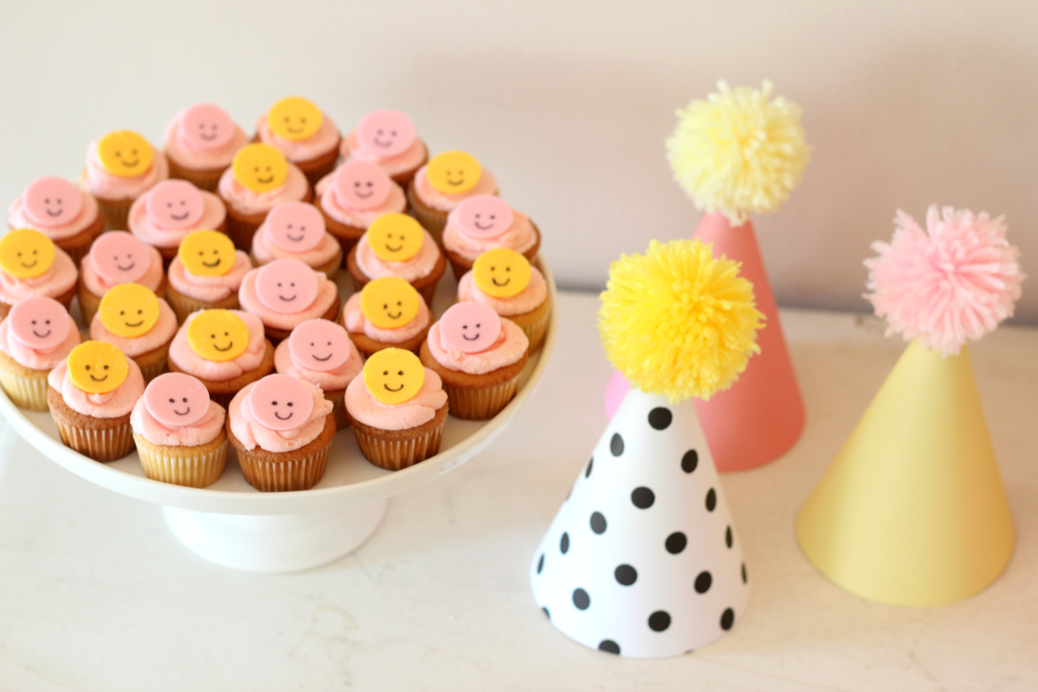 Smiley Face Birthday Party {Carmendy Turns TWO}