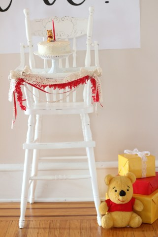 boho winnie the pooh birthday party 32