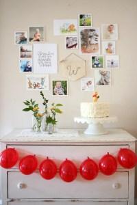 boho winnie the pooh birthday party 46