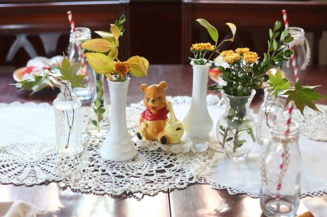 boho winnie the pooh birthday party 5