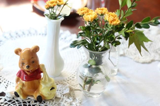 boho winnie the pooh birthday party 64