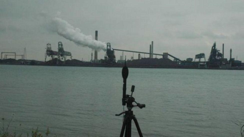 Un micrófono en un estudio en Windsor Foto: Universidad de Windsor