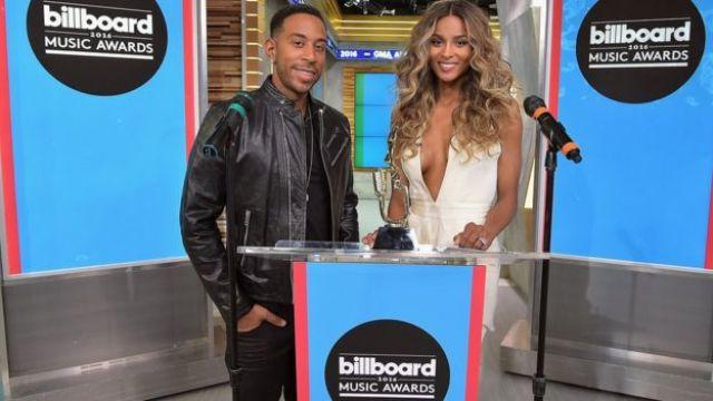 Ludacris and Ciara
