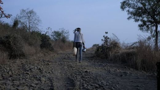 A parched farm in Maharashtra