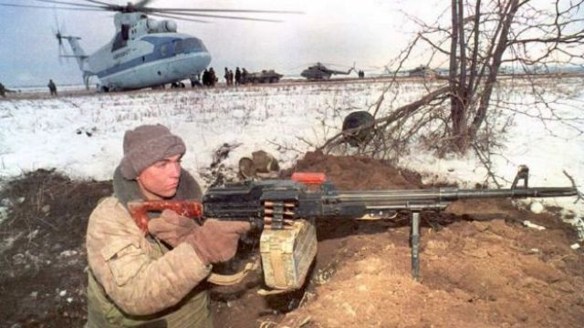 Guerra na Chechênia
