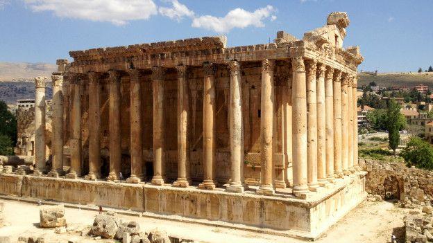 Templo de Baco, en Baalbek