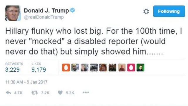 Trino de Trump