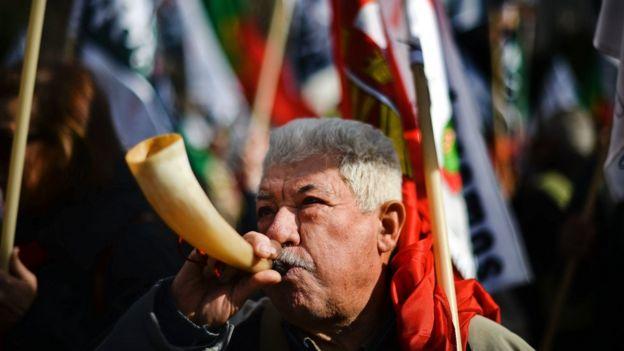Protesta Portugal