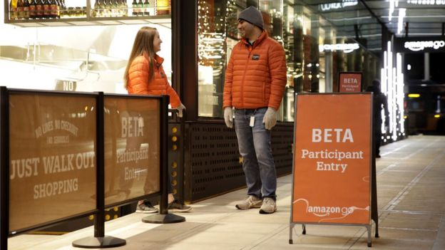 Tienda de Amazon en Seattle