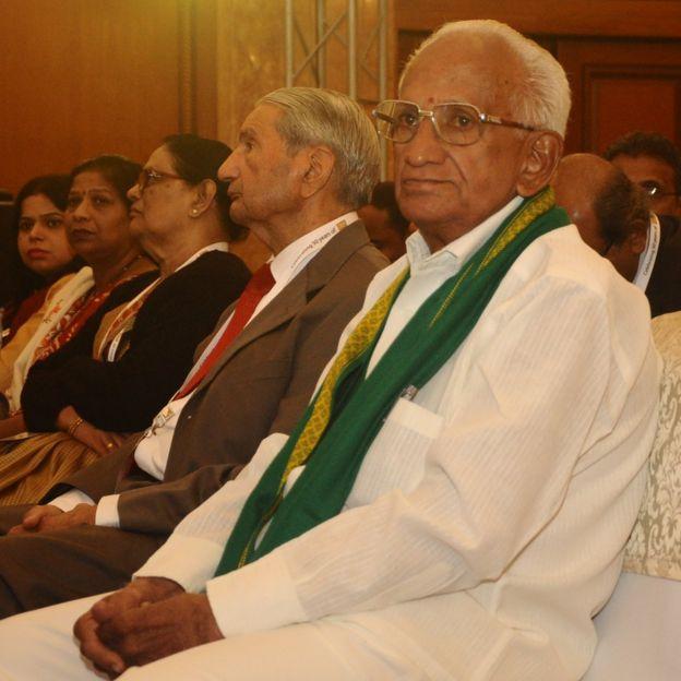 Subba Rao en la celebración