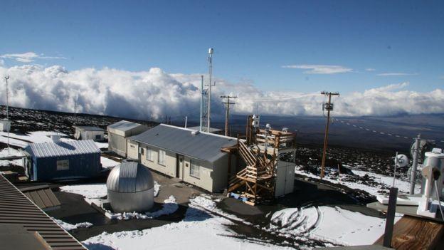 Estación de monitoreo del aire