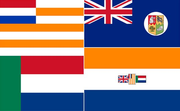 South African flag composite