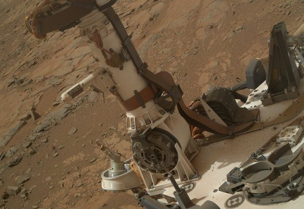 Curiosity's Mast and deck where REMS sensors are located
