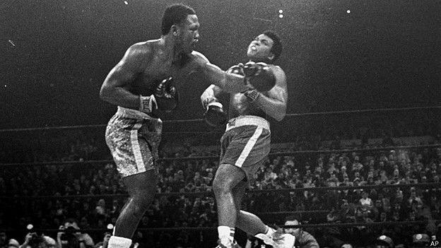 Muhammad Ali vs Joe Frazier