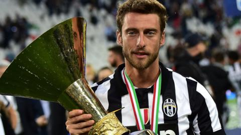 Juventus   Football   BBC Sport Claudio Marchisio