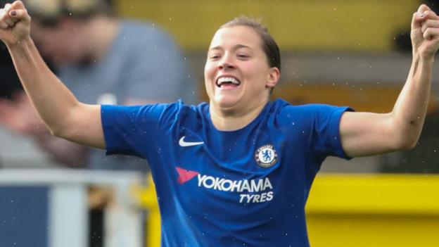 Chelsea beat Man City to reach Women's FA Cup final