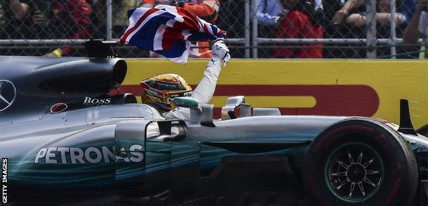 Lewis Hamilton wins the 2017 drivers' championship