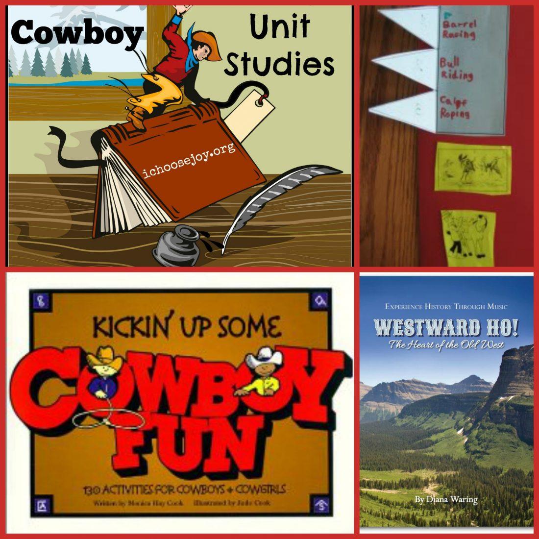 Cowboy lapbook and unit study