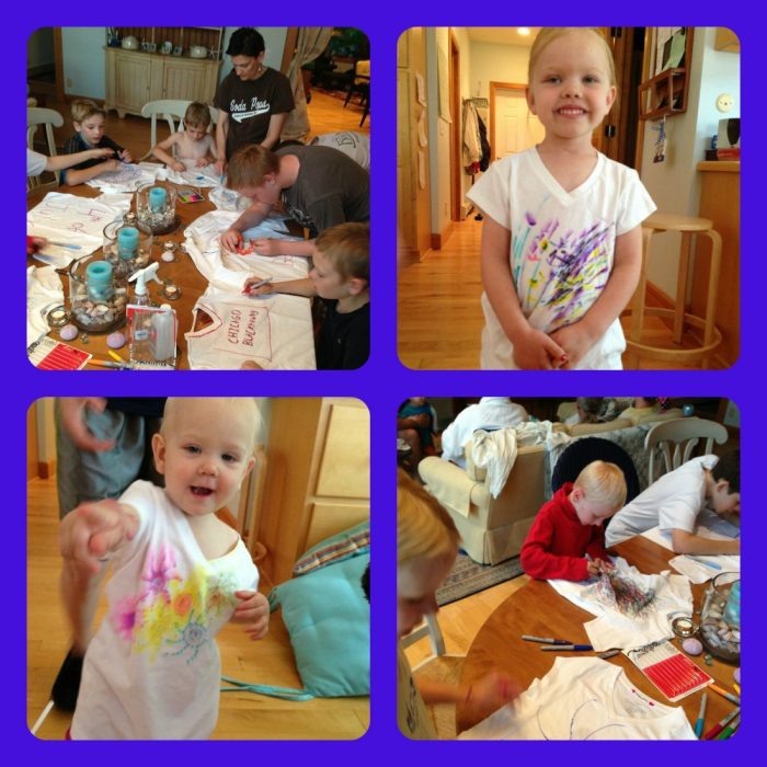 PicMonkey Collage decorating t-shirts