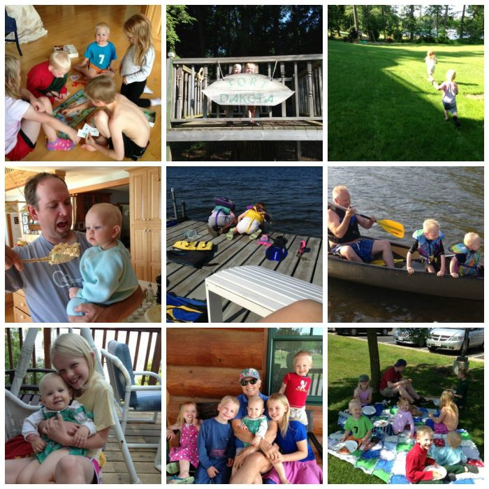 PicMonkey Collage-lake vacation