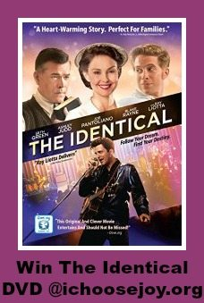 """Review/ Giveaway """"The Identical"""" DVD"""