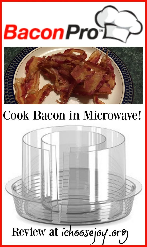 Bacon Pro- cook bacon in microwave!