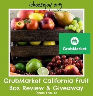 Review/Giveaway: GrubMarket box of Fruit